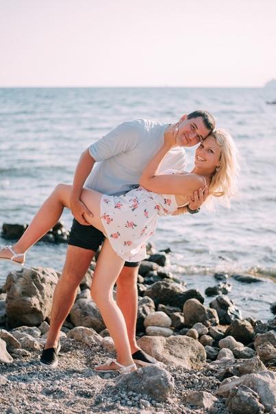 Love story фотосессия в Судаке . Екатерина 07.19