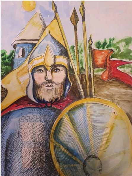 Якутская епархия подвела итоги конкурса «Александр Невский: воин, князь, святой», изображение №13