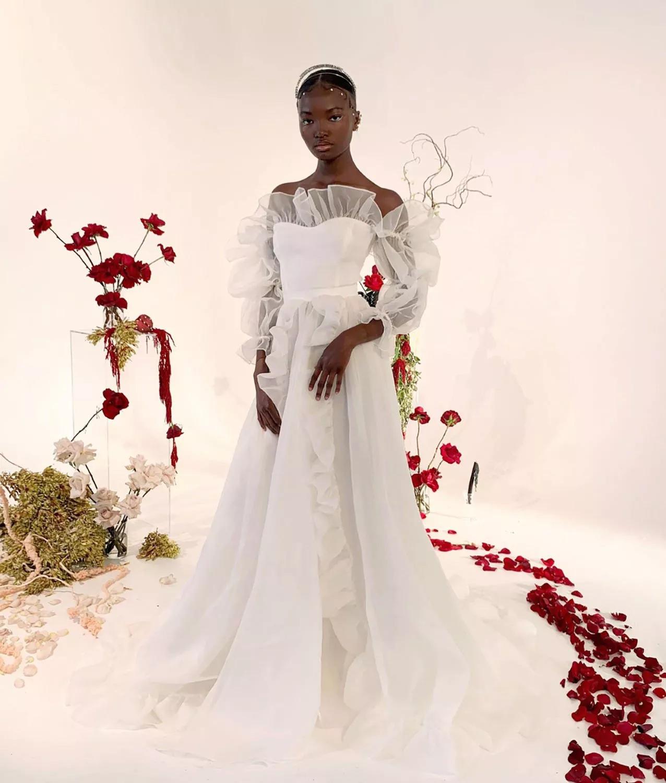 GHxZJB qoXU - 21 романтическое платье для невесты в 2021 свадебном сезоне