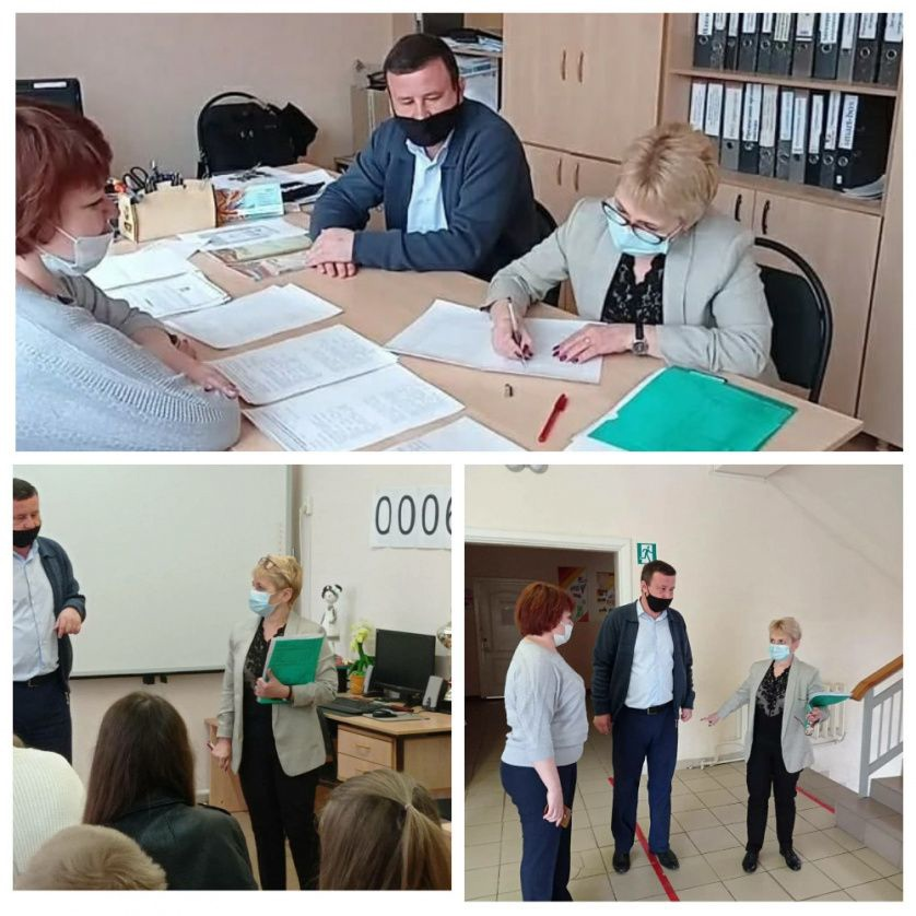 В Петровске проверили готовность пунктов проведения государственной аттестации выпускников