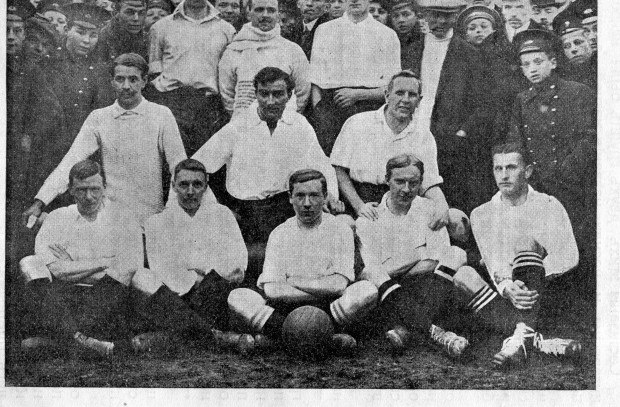 Сборная МФЛ, выигравшая первый международный матч.