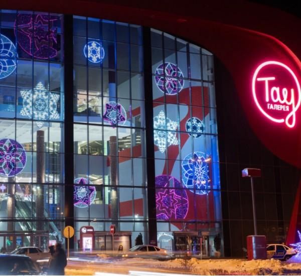 Сезонное оформление торговых центров в Челябинске