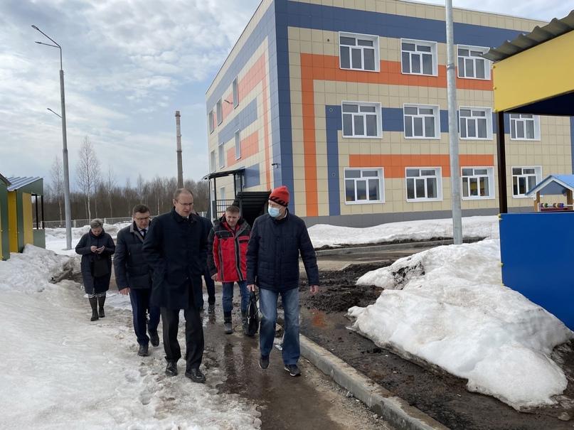 🏢7 апреля в Березниках с рабочим визитом побывали заместитель председателя прави...