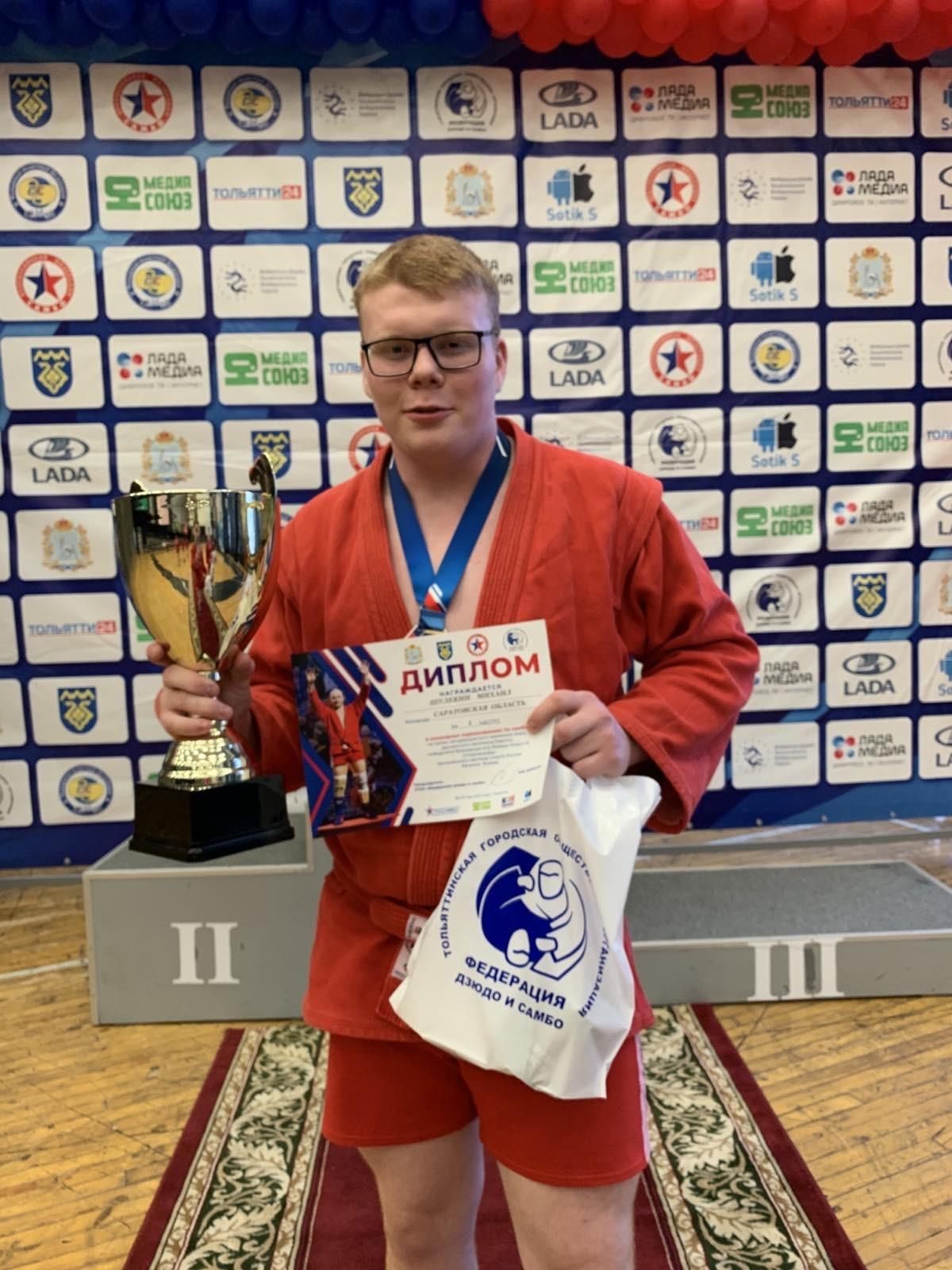 Петровчанин Михаил Шулекин в составе сборной региона выступил на командном турнире по самбо