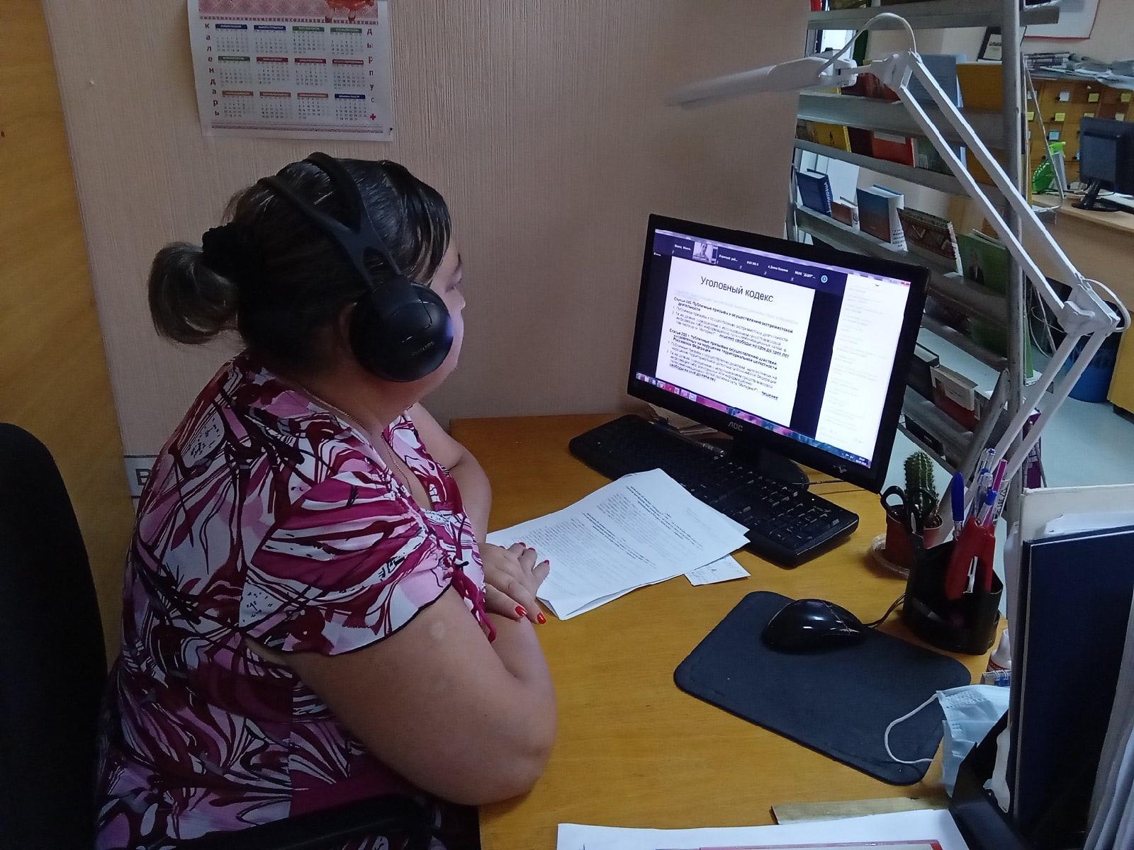 8 июля сотрудники Можгинской районной библиотеки