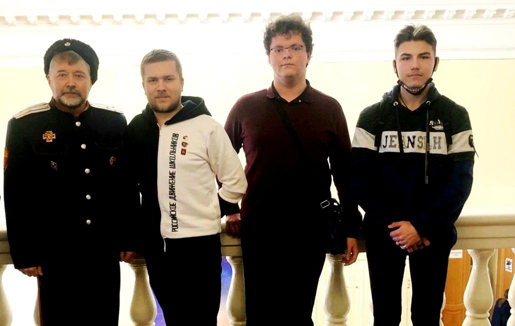 студенты ТКТИ на слете Наследники Победы