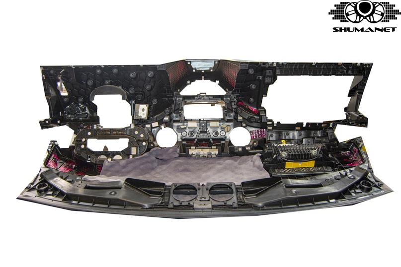 Комплексная шумоизоляция Mercedes-Benz V-Class, изображение №25