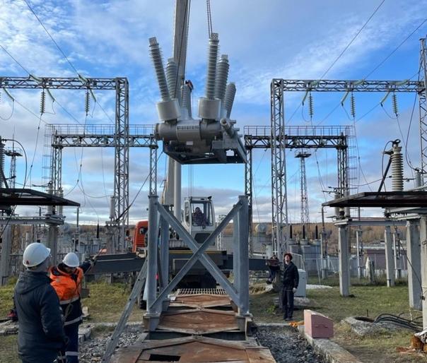 В Свердловской области энергетики заканчивают моде...