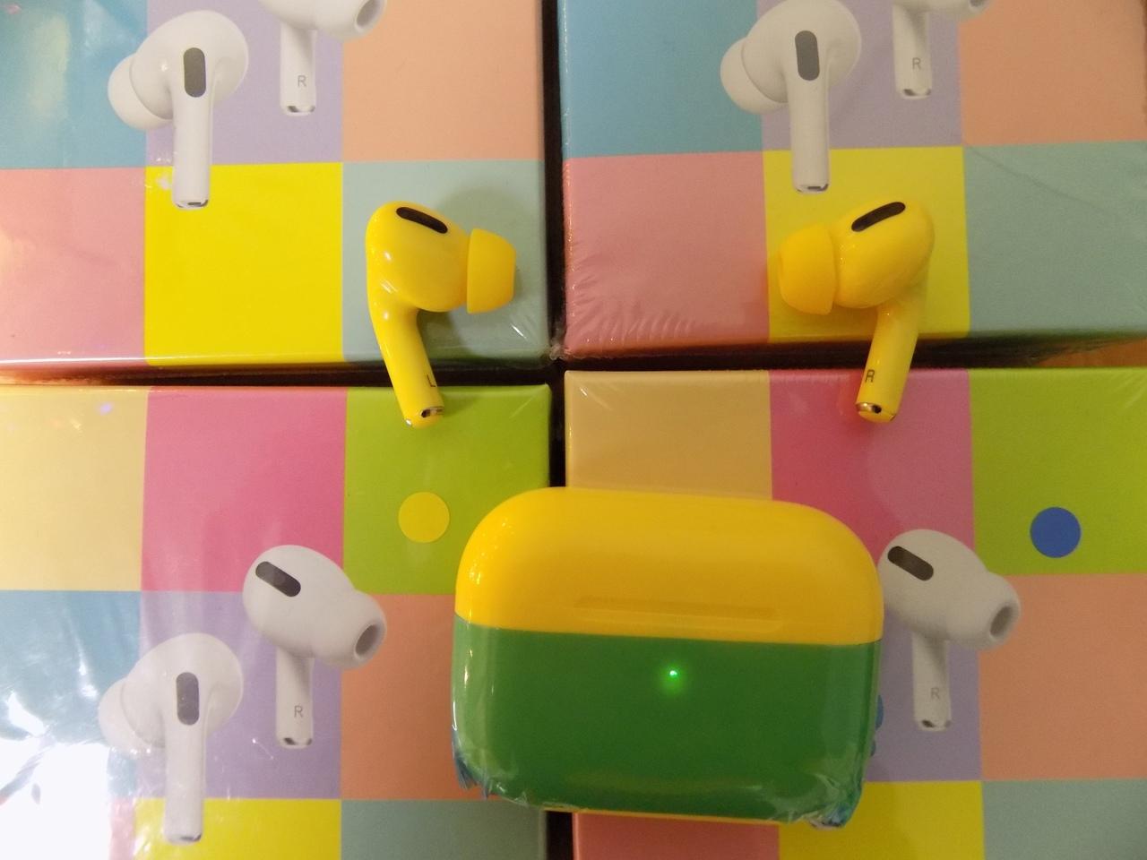 Цветная копия Airpods Pro!!!!!