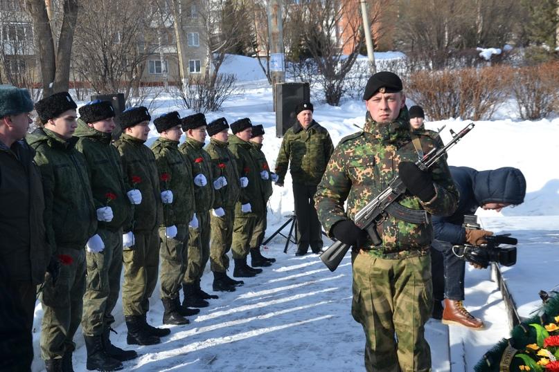 Митинг посвященный Дню вывода Советских войск из Афганистана, изображение №1