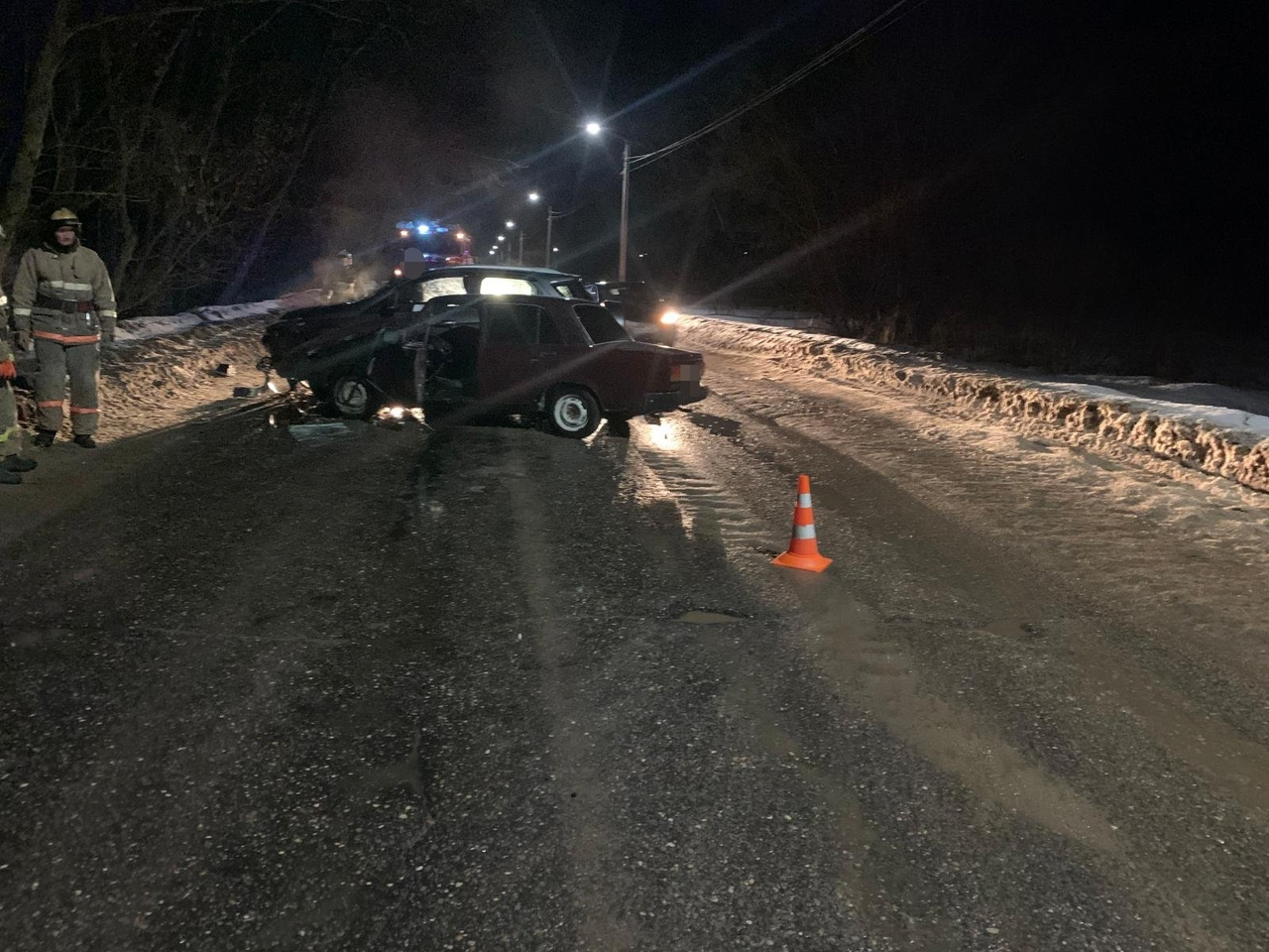 На Борковском шоссе в Кимрах 39-летняя женщина-водитель спровоцировала ДТП с пострадавшим
