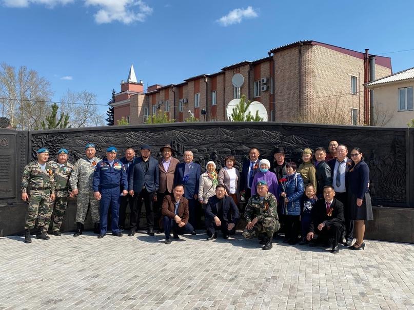 В Туве проходят праздничные мероприятия, посвященные 76-ой годовщине Победы в Ве...