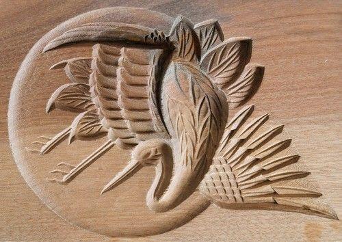 Японские деревянные резные формы Кашигата, изображение №13