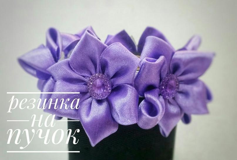 Красивая резинка на пучок для настоящей   Объявления Орска и Новотроицка №17708