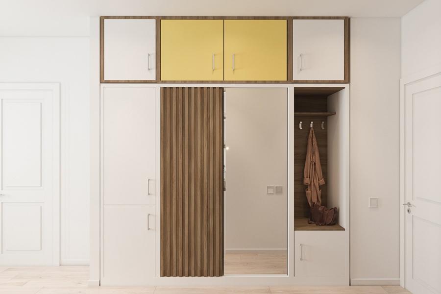 Проект квартиры 27,8 кв.