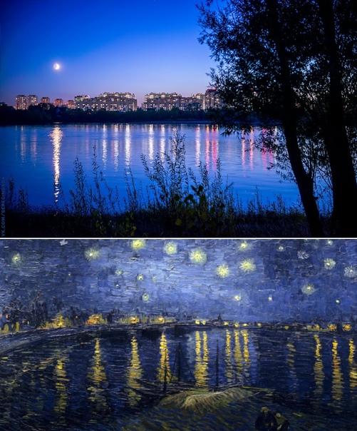 Омская ночь и
