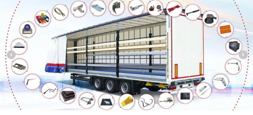 Цена на крылья для грузовых авто в Екатеринбурге