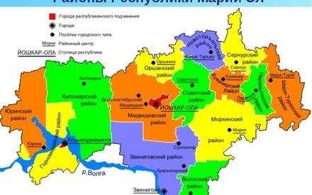 Часть республики Марий Эл может войти в состав Татарстана