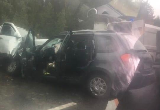 Два человека погибли при столкновении автомобилей в Звениговском районе