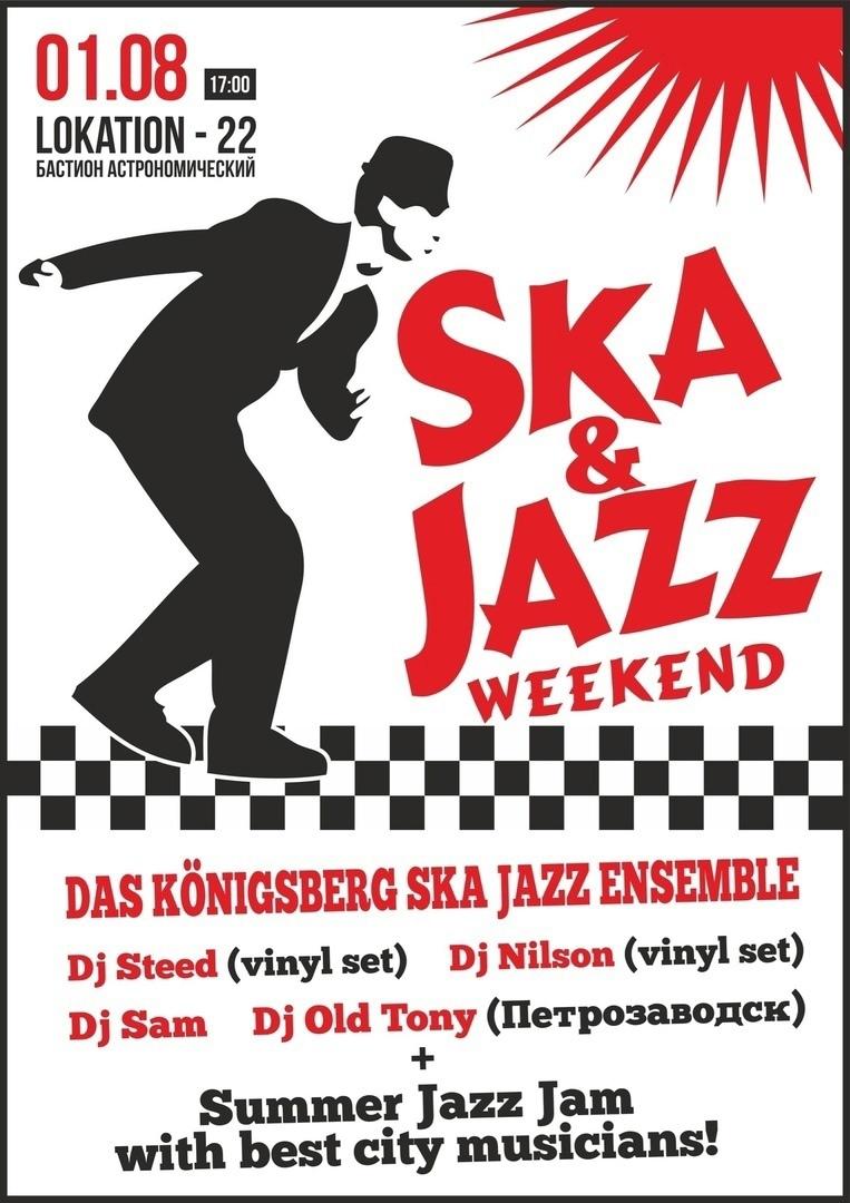 01.08 Ska & jazz Weekend!