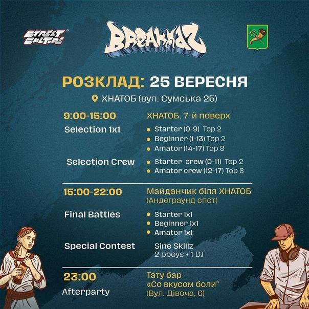 Фестиваль хип-хоп культуры Breakidz 2021проходит ...