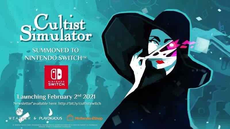 Cultist Simulator - Reveal Date - Nintendo Switch