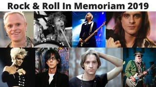 Rock & Roll In Memoriam 2019: Singers and musicians who passed away in 2019 #InMemoriam #RockAndRoll