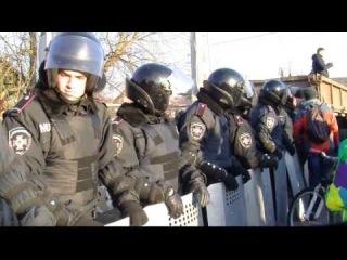 Автопробіг і похід до Януковича