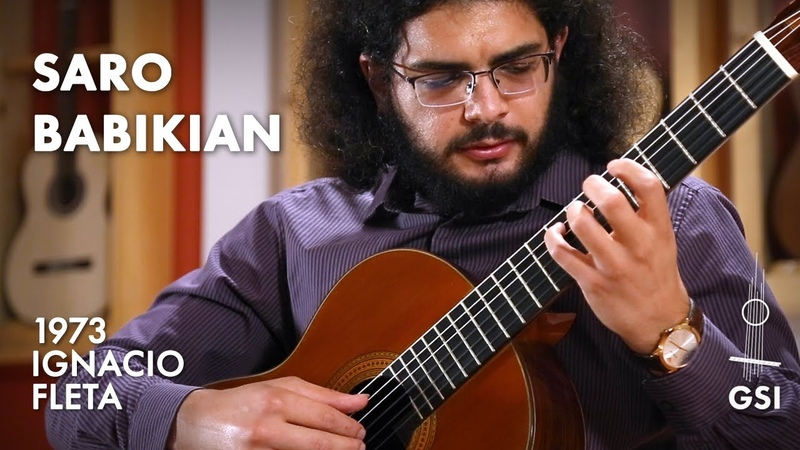 Shnorhali Yekmalyan's Amen Hayr Sourp played by Saro Babikian on a 1973 Ignacio Fleta e hijos
