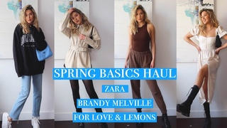 PT1 SPRING BASICS HAUL, ZARA, BRANDY MELVILLE, FOR LOVE LEMONS