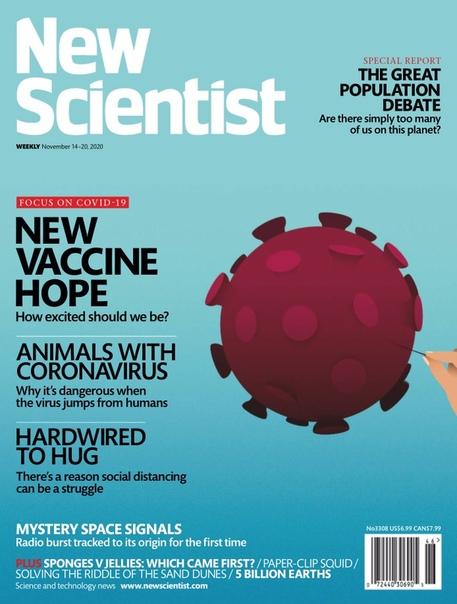 New Scientist.  November 14,  2020