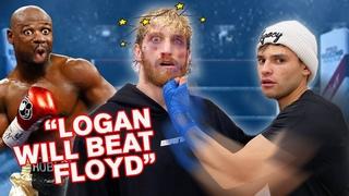 I Taught @Logan Paul How To Knockout Floyd Mayweather!   Ryan Garcia Vlogs