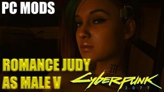 How to romance Judy as Male V - Cyberpunk 2077 (PC Mods)