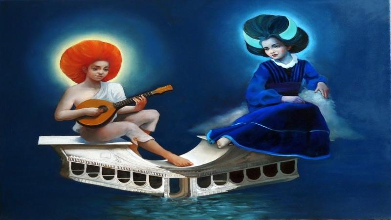 Сюрреализм в творчестве Александра Гизя Чобану Alex Ghizea Ciobanu