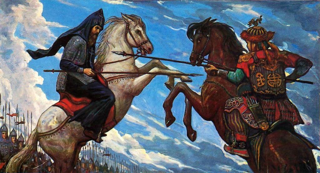 День воинской славы России. Победа русских полков во главе с Дмитрием Донским над монголо-татарскими войсками в Куликовской битве