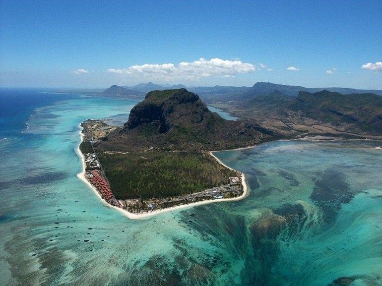 Подводные водопады на Маврикии, изображение №4