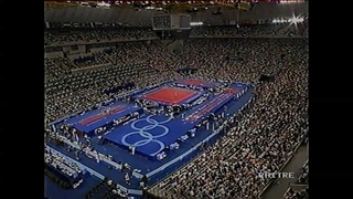 Olympics Barcellona'92 - AA final rotation Goutsou, Miller, Zmeskal, Onodi, Boguinskaia