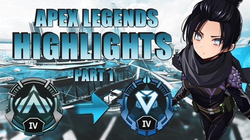 💙 Apex Legends montage Платина Алмаз Ч 1 💎