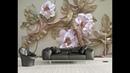 5D Mural Wallpaper for bedroom, living room TV cabinet