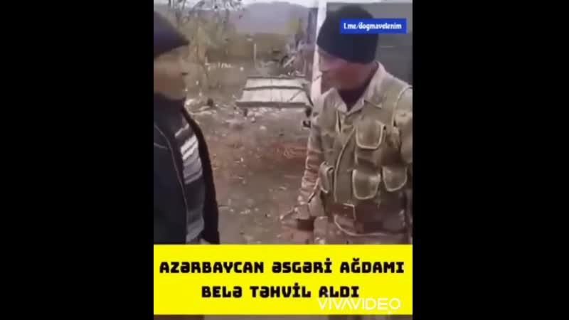 Азербайджанский солдат