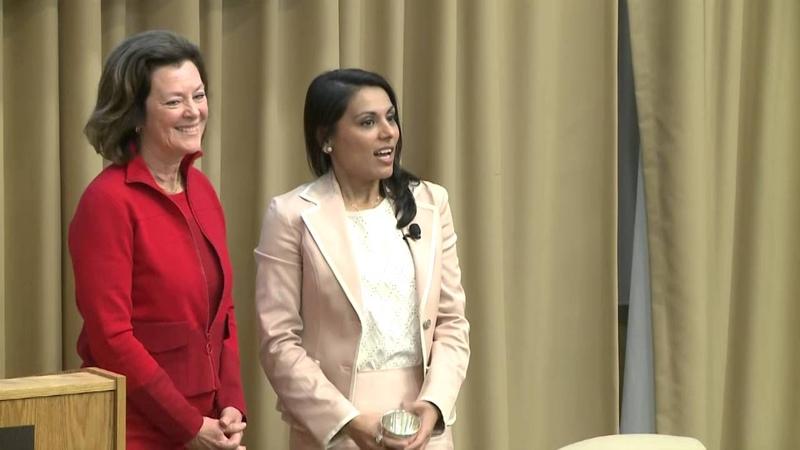 2016 Fletcher Women's Leadership Award Nahid Bhadelia MD