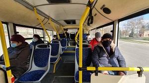 В Липецке проверили, как пассажиры соблюдают масочный режим