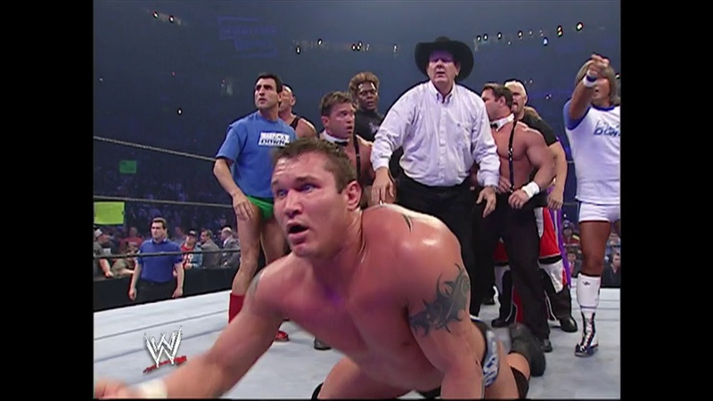 Team Raw vs Team Smackdown The Undertaker Returns Survivor Series 2005 Highlights Part 2