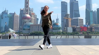 Девушка шикарно танцует Шафл 🔥 Shuffle Dance & Cutting Shapes 🔥 WHTKD - Whtness