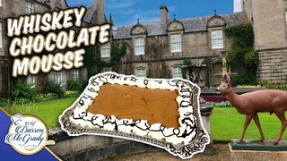 The Chocolate Mousse I made for The Queen at Balmoral Castle!