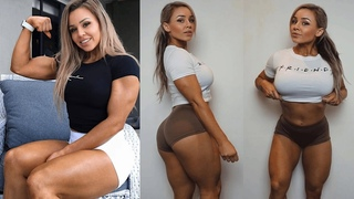 Female Fitness Motivation - Stephanie Sanzo (@stephaniesanzo). Australian female fitness model #2