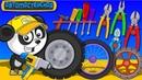 Автомастерская Би-Би Развивающие Мультики про машинки Для Детей