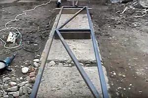 Калитка из металлопрофиля своими руками – схема + порядок выполнения работы, изображение №34