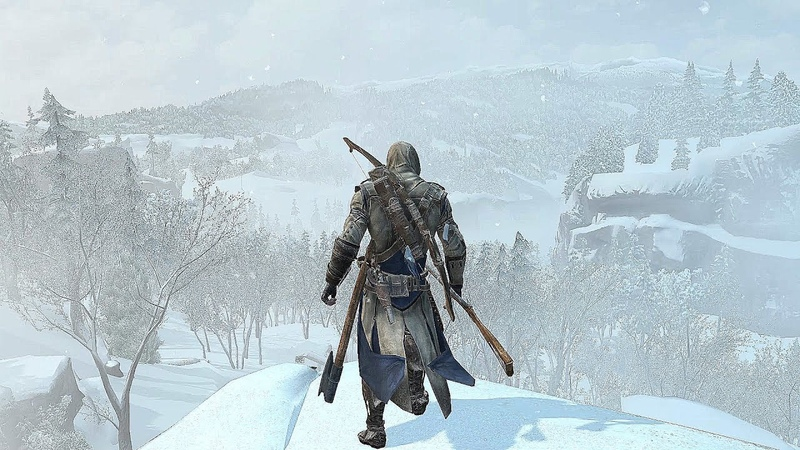 Assassin's Creed 3 Connor's Snowstorm Rampage Free Roam