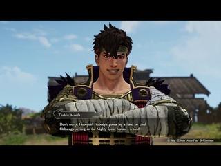 Samurai Warriors 5 gameplay (Switch)